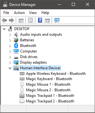 Magic Human Interface Devices